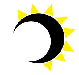 The Solar Eclipse Logo