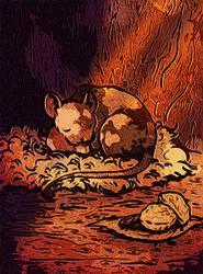 Sleeping Mouse by SirHagfish