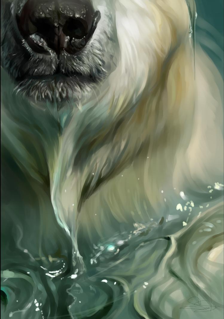 Polar bear 2016 You just didn't see the sea... by SalamanDra-S