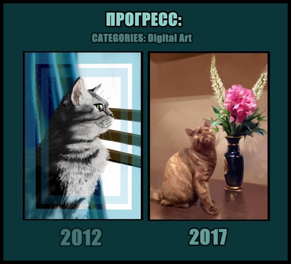 Progress 2012-2017 by SalamanDra-S
