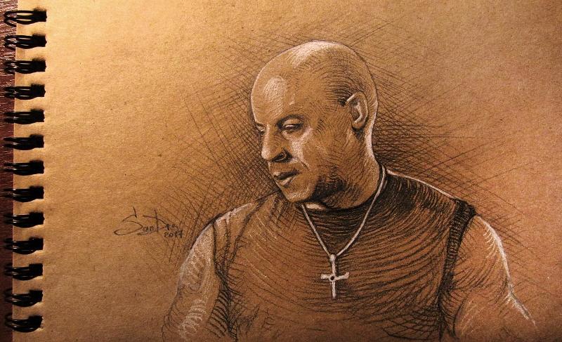 Dominic Toretto by SalamanDra-S