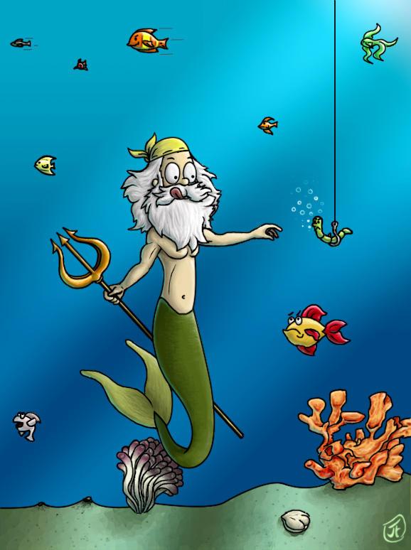 Triton Poseidons Son