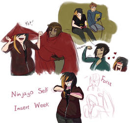 Ninjago Self Insert Week - Days 1-3 by Thorn-Zenithar