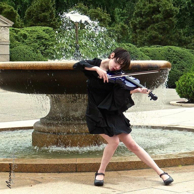 My Violin and I by neko-mimi-azul