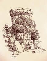 The Stone Keep by outsidelogic