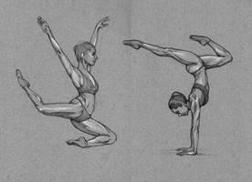 Sketching Misty Copeland