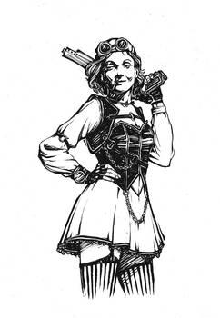 Steampunk Marlene