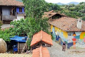 surrealistic village by yiimisekiz