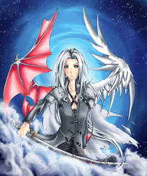 : : Black Angel : : by rose-opal