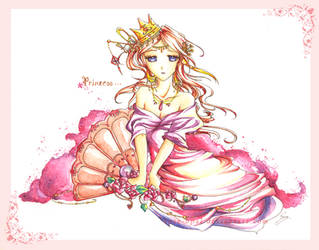 +Cherry Blossom Princess+ by rose-opal