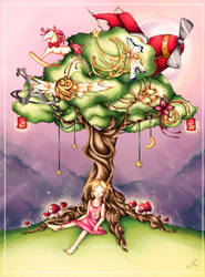 +The Tree of Hopes and Dreams+ by rose-opal