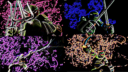 TMNT Walpaper - Nickelodeon by Jinchu-No-Hitokiri