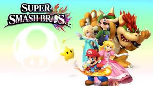 SSB4 Team Mario Wallpaper (720p)