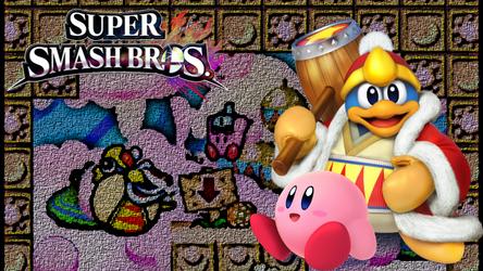SSB4 Team Kirby Wallpaper by Jinchu-No-Hitokiri