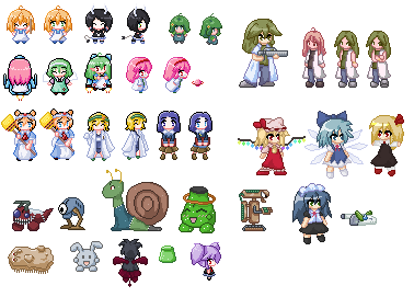 Various Sprites by Damaged927