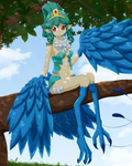 Yakitori the Harpy