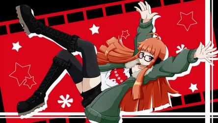 Persona 5 - Futaba Sakura by Damaged927