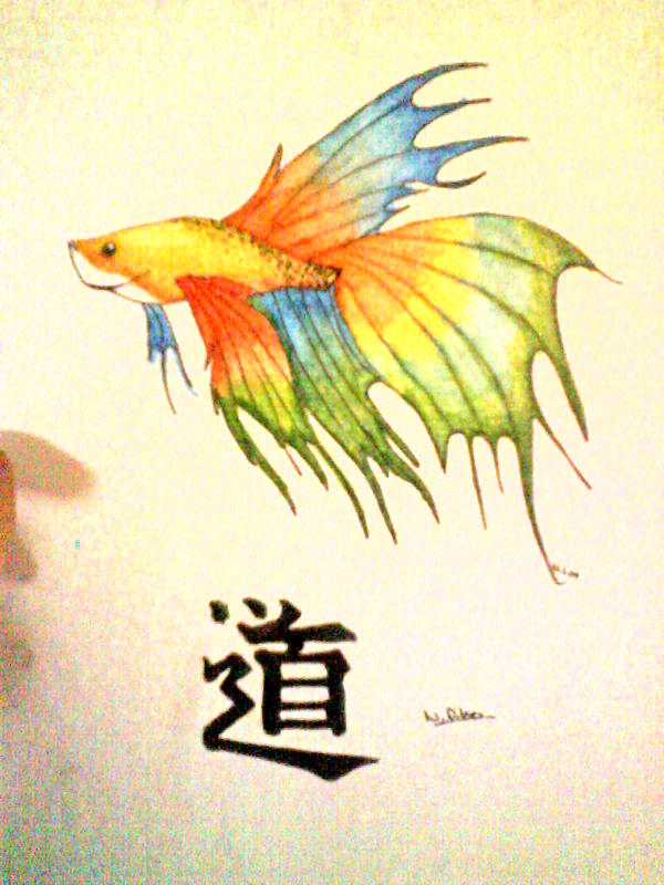 japanese fighting fish. by collective-soul on DeviantArt