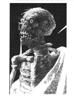 Halloween Skeleton detail WIP