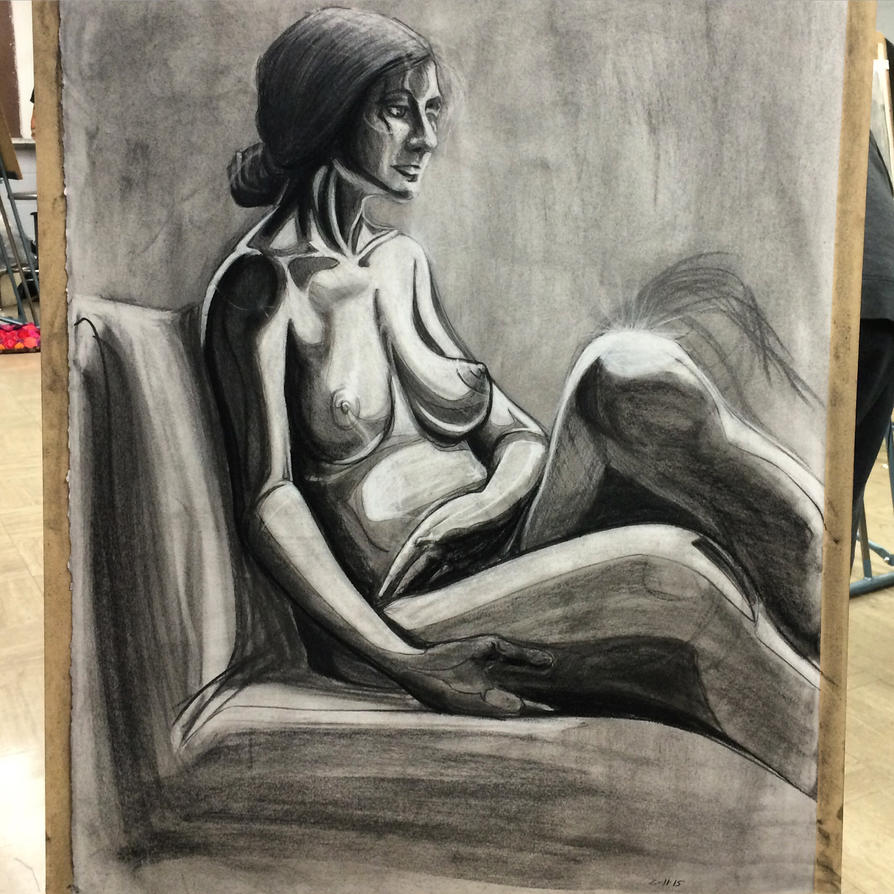 3 hour figure drawing by MistressMustang