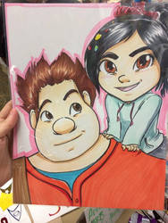 Wreck it Ralph Commission