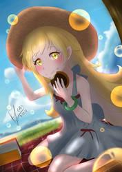 Shinobu Donut picnic by Konakurou