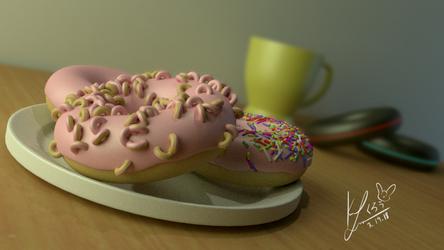 Donut with donut sprinkles.. wut by Konakurou