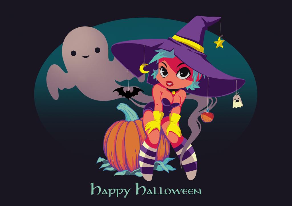 Happy Halloween by Banzayaz