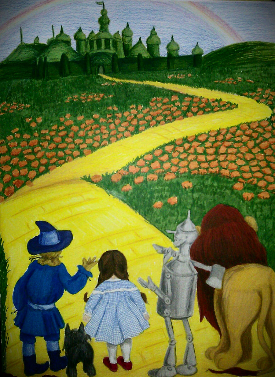 follow the yellow brick road by ashlee751 on deviantart