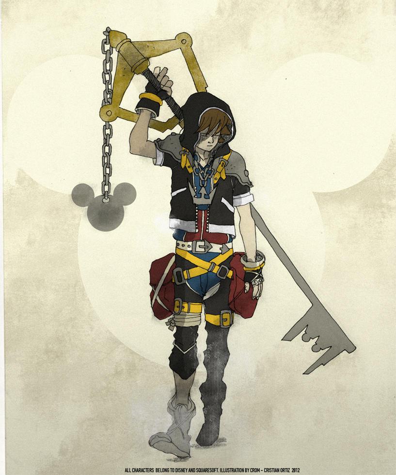 Sora Kingdom Hearts Kingdom Hearts: SORA KINGDOM HEARTS By CromArt On DeviantArt