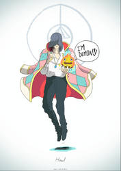 Howl is the coolest. by cromArt