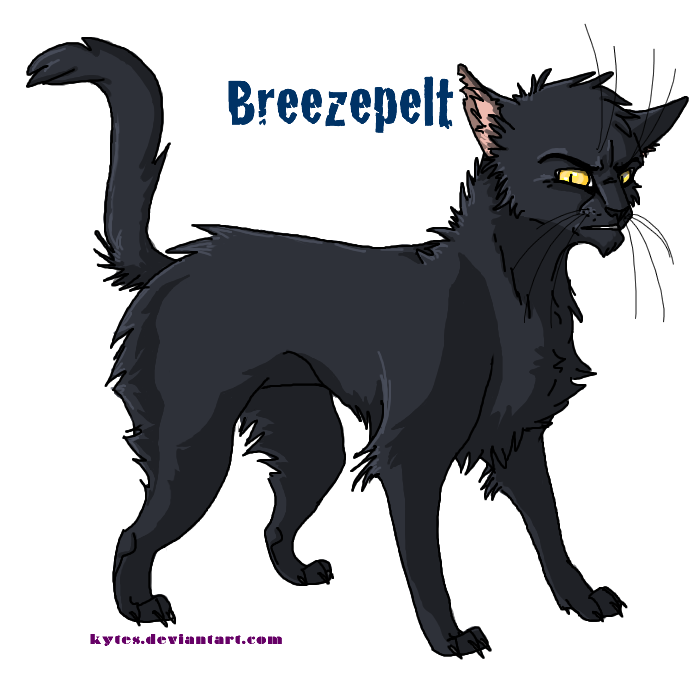 Warrior Cats Ivypool And Breezepelt Warriors- breezepelt by kytesWarrior Cats Ivypool And Breezepelt