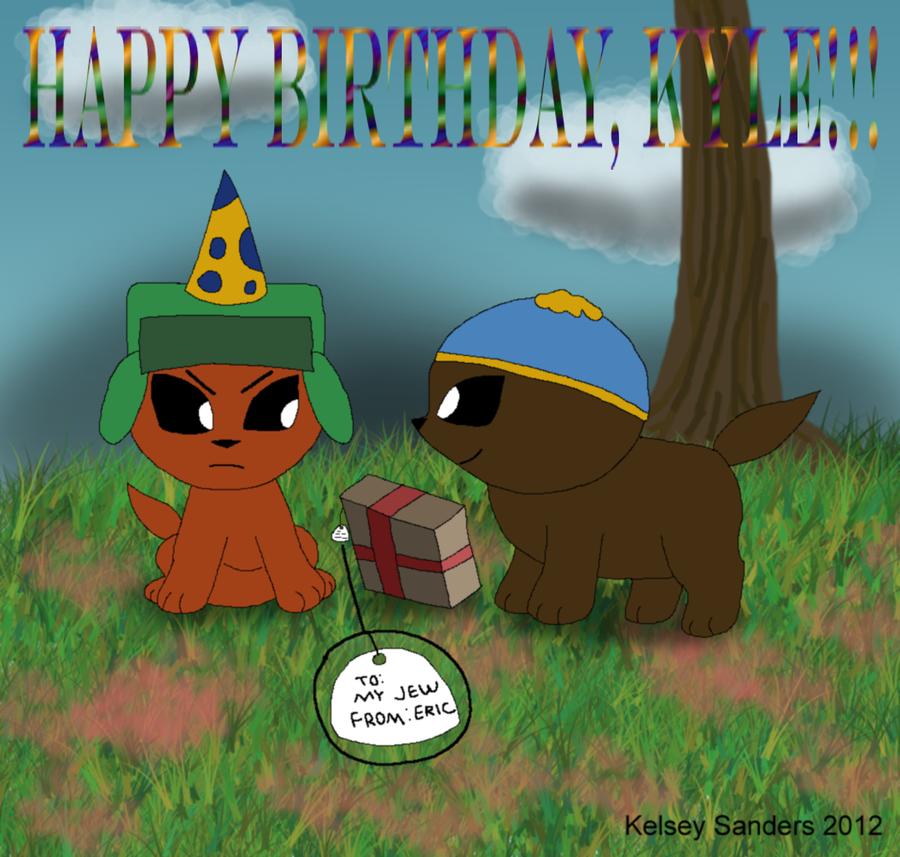 South Park: Happy Birthday, Kyle by KelseyEdward