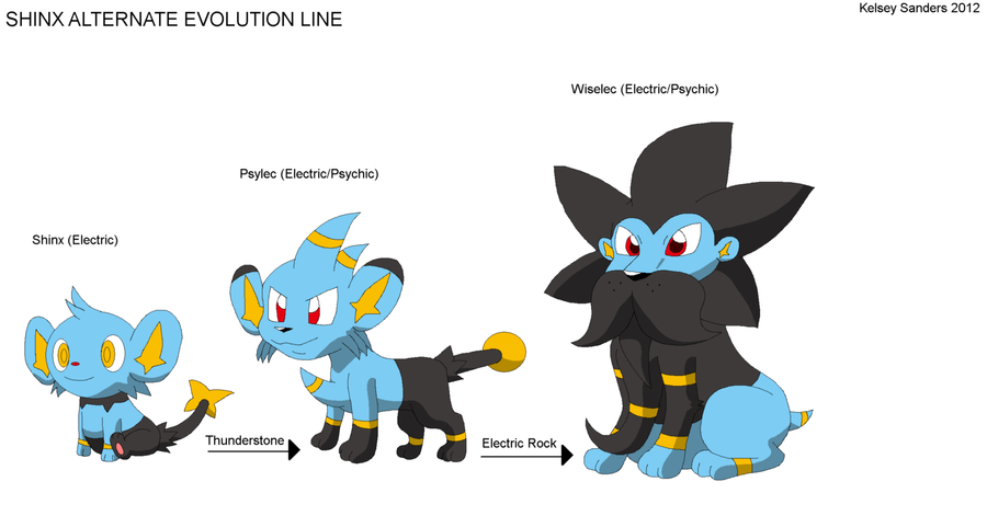 Image Gallery shinx evolution