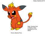 Pychu: Pikachu's Fire-Type Evolution
