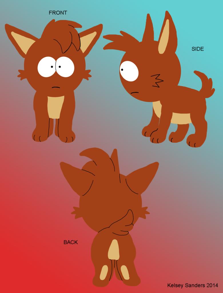 South Park: Kelsey Reference Sheet 2014 by KelseyEdward