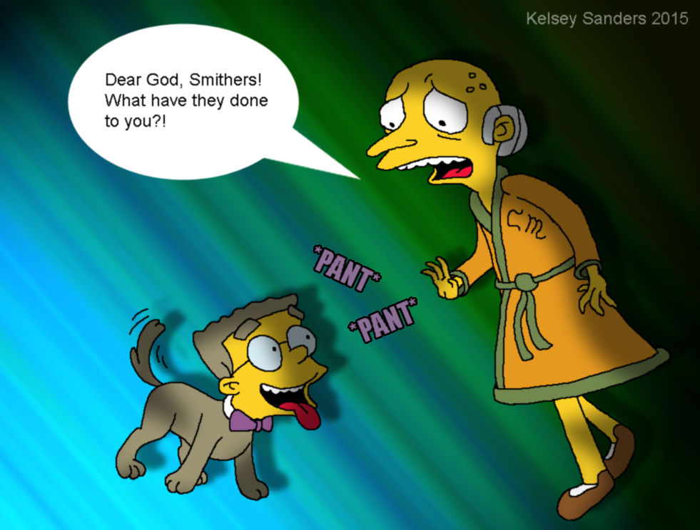 Mr Burns Nightmare By Kelseyedward On Deviantart They would die for their owners! mr burns nightmare by kelseyedward on