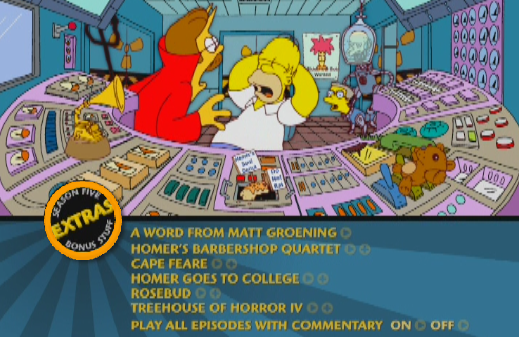 So This Just Happened on My Simpsons DVD by KelseyEdward