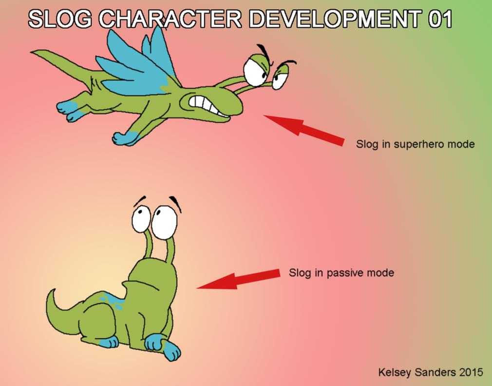 Slog Character Development 01 by KelseyEdward