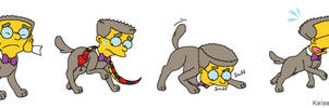 Smithers Dog Collage Number Nineteen