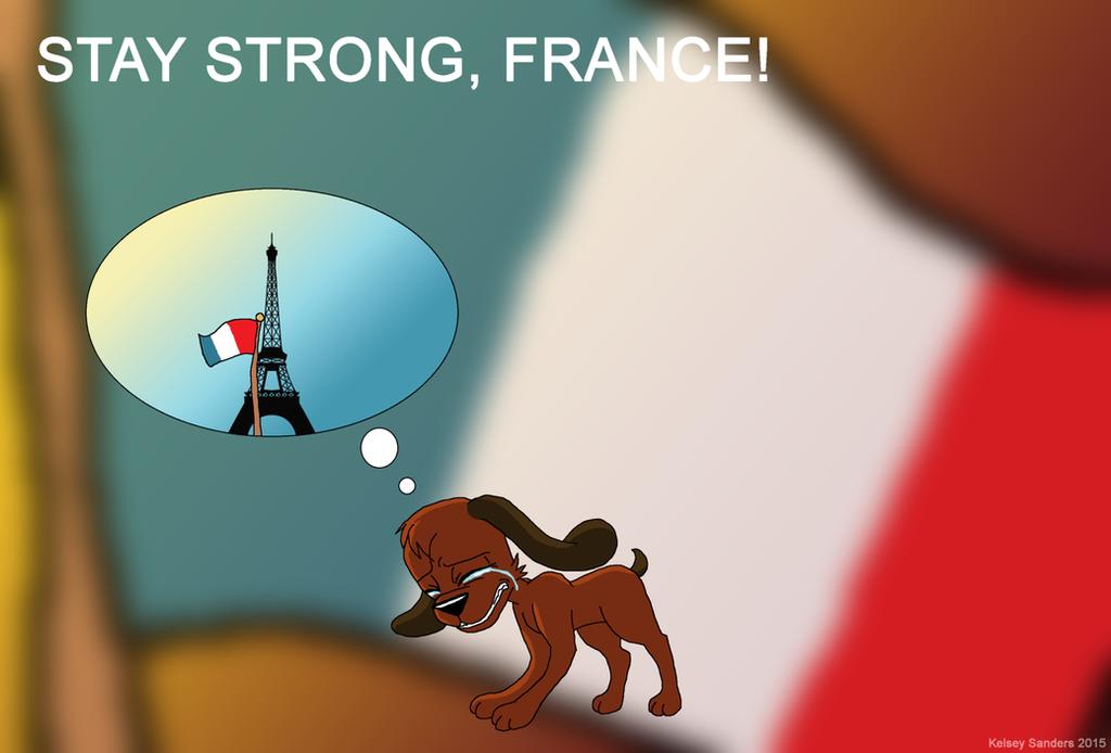 Stay Strong, France! by KelseyEdward