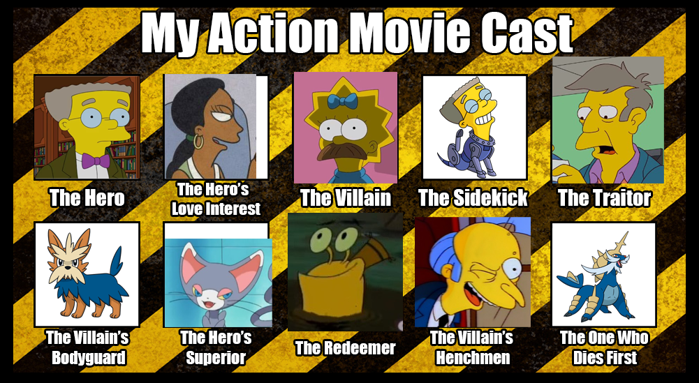 Kelsey Sanders' Action Movie Cast by KelseyEdward on DeviantArt