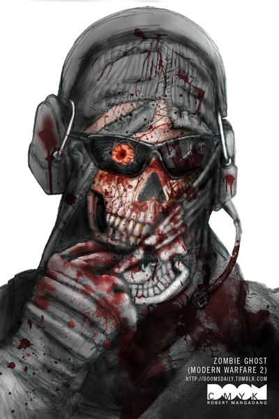 Zombie Ghost Modern Warfare 2 by DoomCMYK