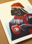Darth Vader Xmas card closeup3