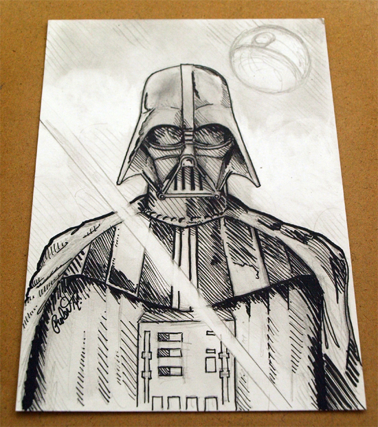 Darth Vader 5x7 by DoomCMYK on DeviantArt