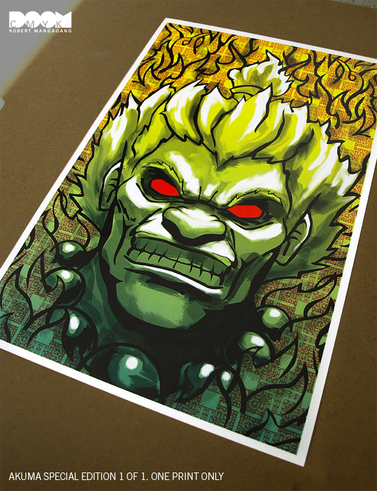 Akuma Special Edition 1 of 1 by DoomCMYK