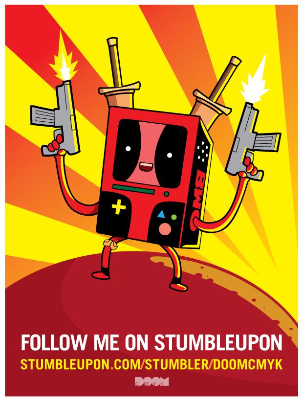Deadpool x BMO by DoomCMYK