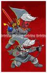 Dark Hyrulogic: Red by DoomCMYK