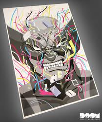Wolverine Electronic Mess fan art by DoomCMYK
