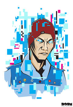 Delsin Rowe Infamous Second Son